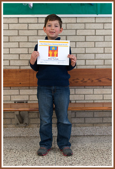 Altai With His Helping Hand Award